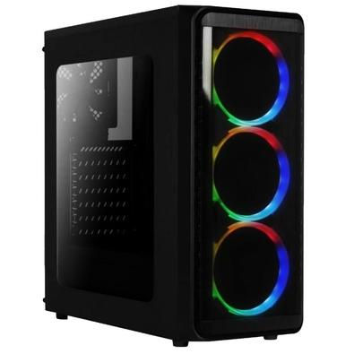 Computador PC Gamer Completo AMD 6-Core, CPU 3.8Ghz 8GB, Radeon R5 2GB, SSD 120GB, Skill Monitor HDMI LED 19.5