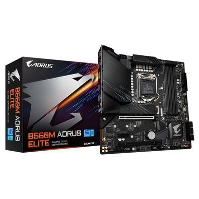 Placa Mãe Gigabyte B560M AORUS ELITE (rev. 1.0), LGA1200, ATX, DDR4