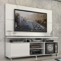 Rack Com Painel Home Leblon 1.6 M Para Tv 55´, Branco