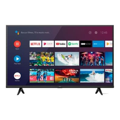 Smart TV LED 43´ 4K UHD HDR TCL P615, Wifi e Bluetooth, 3 HDMI, 1 USB, 60Hz, Modo de Jogo - 43P615