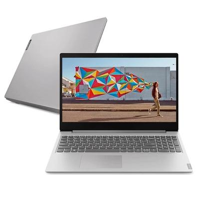 Notebook Lenovo Ideapad S145 Ultrafino, AMD Ryzen 3-3200U, 8GB, 256GB SSD, Windows 10 Home, Tela de 15,6´, 1366x768p, Prata - 81V7000CBR