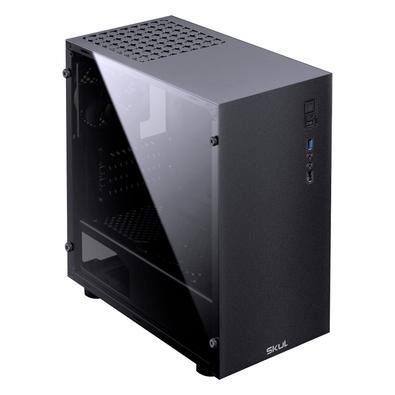 PC Gamer Gamer Skul 3000 Intel Core i3-10100F, RAM 8GB, SSD 240GB, HD 1TB, PCYes GT1030 2GB, Fonte 500W, Linux - 107002