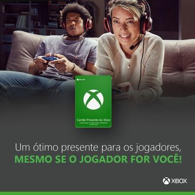Gift Card Xbox: R$ 25 - Código Digital