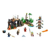 LEGO Ninjago - Aldeia dos Guardiões, 632 Peças - 71747