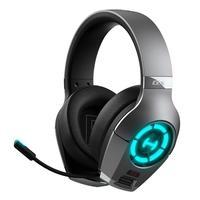 Headset Gamer Edifier  Hi-Res GX Hecate, Microfone com Haste Retrátil, P2, USB Type-C, LED, Modo Game - GX-Cinza