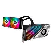 Placa de Vídeo ASUS ROG Strix LC GeForce RTX 3080 Ti OC Edição, 19 Gbps, 12GB GDDR6X, Water Cooler, RGB - ROG-STRIX-LC-RTX3080TI-O12G-GAMING