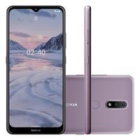 Smartphone Nokia 2.4, 64GB, 3GB RAM, Câmera 13MP/Selfie 5MP, Tela 6.5 HD+, Roxo - NK016