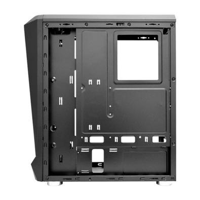 Computador Gamer NTC Powered By Asus Intel Core i5-10400, 8GB RAM, SSD 480GB, RGB, Linux, Preto - Ntc VULCANO II 7175