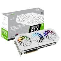Placa de Vídeo Asus ROG Strix NVIDIA GeForce RTX 3080 V2, 10GB, 19Gbps, GDDR6X, LHR, Ray Tracing, DLSS, RGB, Branco - ROG-STRIX-RTX3080-O10G-WHITE-V2