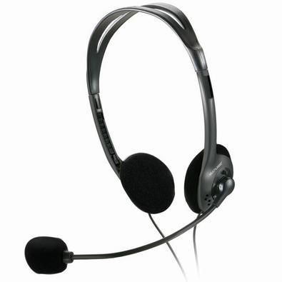 Headset Multilaser P2 Preto - PH002