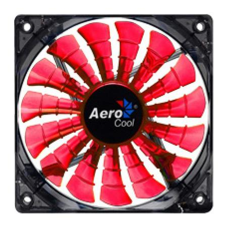 Cooler FAN AeroCool EN55437 12cm Shark Devil Red Edition