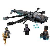 LEGO Super Heroes - Avião Dragão de Black Panther, 202 Peças - 76186