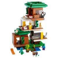 LEGO Minecraft - A Casa da Árvore Moderna, 909 Peças - 21174