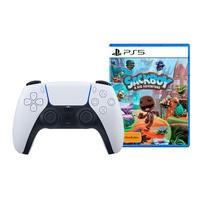 Controle Sem fio PS5 DualSense + Jogo Sackboy: Uma Grande Aventura PS5