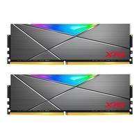 Memória XPG Spectrix D50, RGB, 16GB (2x8GB), 4133MHz, DDR4, CL19, Cinza - AX4U41338G19J-DT50