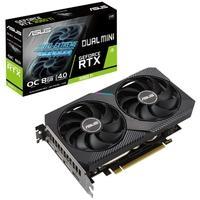 Placa de Vídeo Asus Dual NVIDIA GeForce RTX 3060 TI O8G Mini V2 OC, RGB, 8GB GDDR6, LHR, DLSS, Ray Tracing - 90YV0FT2-M0NA00