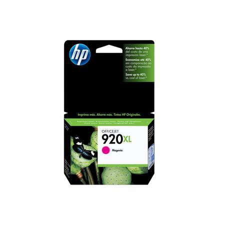 Cartucho de Tinta HP 920XL Magenta CD973AL