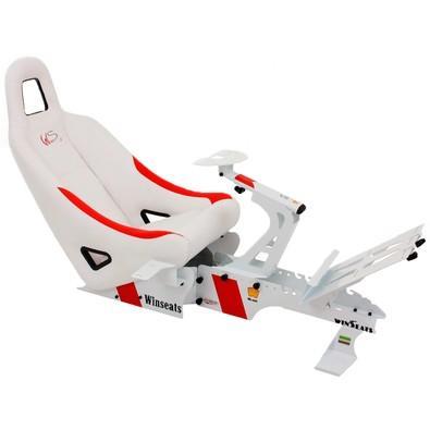 Cockpit Winseats WS One White/Red - WSOW