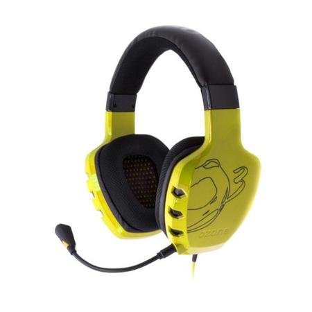 Fone de Ouvido Headset Rage St Yellow Ozone Ozragesty