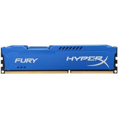 Memória Kingston HyperX FURY 8GB 1333Mhz DDR3 CL9 Blue - HX313C9F/8