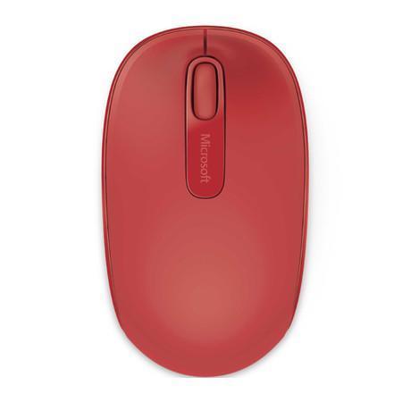 Mouse Óptico Microsoft 1850 sem Fio U7Z-00038 Vermelho