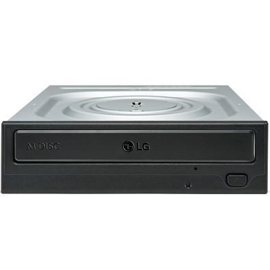 Drive LG Gravador de CD/DVD e Leitor de CD/DVD 24X - GH24NSC0