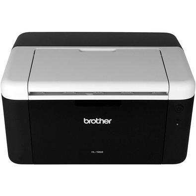 Impressora Brother Laser, Monocromática, 110V, Preto - HL-1202