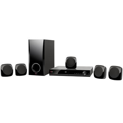 Home Theater LG 5.1, Karaokê, USB, HDMI, 330W - DH4130S