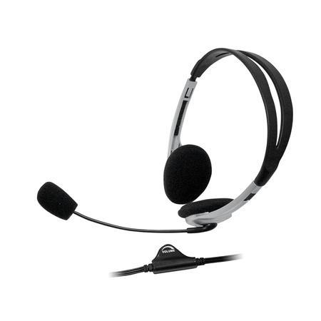 Microfone Bright Headphone Headset Preto 0010