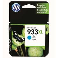 Cartucho de Tinta HP Officejet 933XL, Ciano - CN054AL