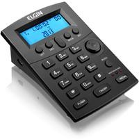 Telefone Elgin Headset com Identificador, Preto - HST 8000