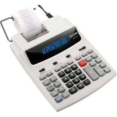 Calculadora Elgin Bobina 12 Digitos Bivolt MR 6124