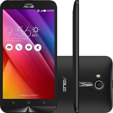 Smartphone Asus Zenfone 2 Laser, 16GB, 13MP, Tela 5.5´, Preto - ZE550KL-1A058WW