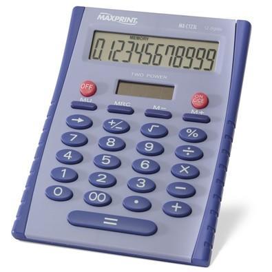 Calculadora de Mesa Lilás Mxc123l Maxprint