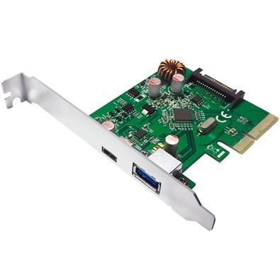 Placa PCI Express Comtac USB 3.1 A+C 9327