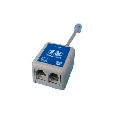 Filtro ADSL PW Duplo Modem e Telefone - 252