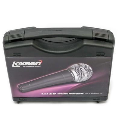 Microfone Lexsen - Dinamico Cardioide para Vocal - LM-58