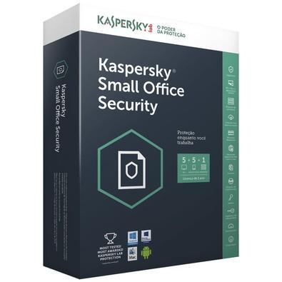 Kaspersky Small Office Security Multidispositivos 5 PCs + 5 Mobile + 1 Server