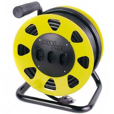 Extensão Daneva Maxi Pro 2x1,5mm 40m (10 A) Amarelo DN1543