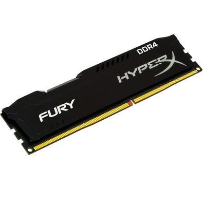 Memória Kingston HyperX FURY 4GB 2400Mhz DDR4 CL15 Black - HX424C15FB/4