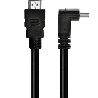 Cabo Vinik HDMI Macho x HDMI Macho 1.4V 5m 1 Conector Padrão 1 Conector 90 Graus 19 Pinos HA90-5 23527
