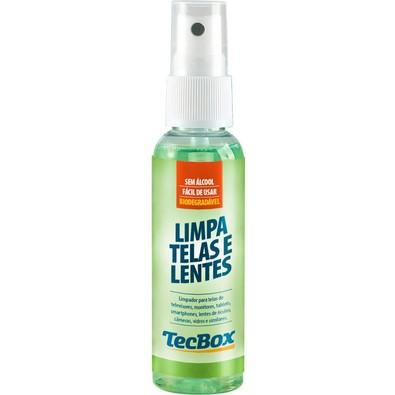 Limpa Telas e Lentes TecBox 60ml + Flanelas 437