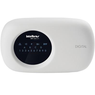 Teclado LED para Centrais de Alarme Intelbras XAT 3000 LED - 4540020