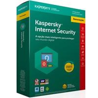 Kaspersky Internet Security 2018 Multidispositivos 1 PC - Renovação