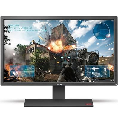 Monitor Gamer Benq Zowie LED 27´ Widescreen, Full HD, HDMI/VGA/DVI, Som Integrado, 1ms, Grafite - RL2755