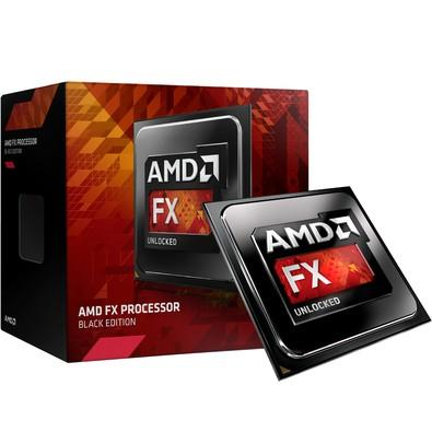 Processador AMD FX 8300 Black, Cache 16MB, 3.3GHz (4.2GHz Max Turbo), AM3+ - FD8300WMHKBOX