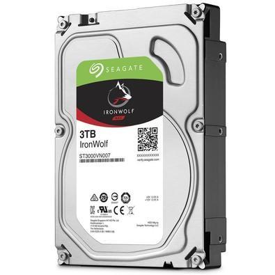 HD Seagate IronWolf NAS, 3TB, 3.5´, SATA - ST3000VN007