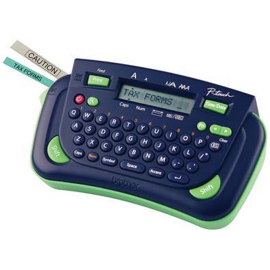 Rotulador Eletrônico Portátil Brother PT80 Azul/Verde
