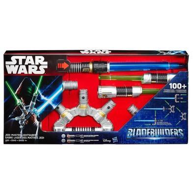 Sabre De Luz Eletrônico - Star Wars Signature Jedi Blade Builders - Hasbro B2949