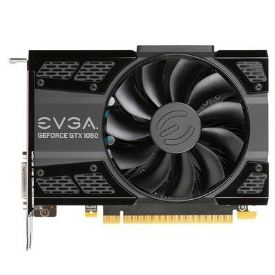 Placa de Vídeo VGA EVGA NVIDIA GeForce GTX 1050 2GB 128Bits ACX GDDR5 - 02G-P4-6150-KR